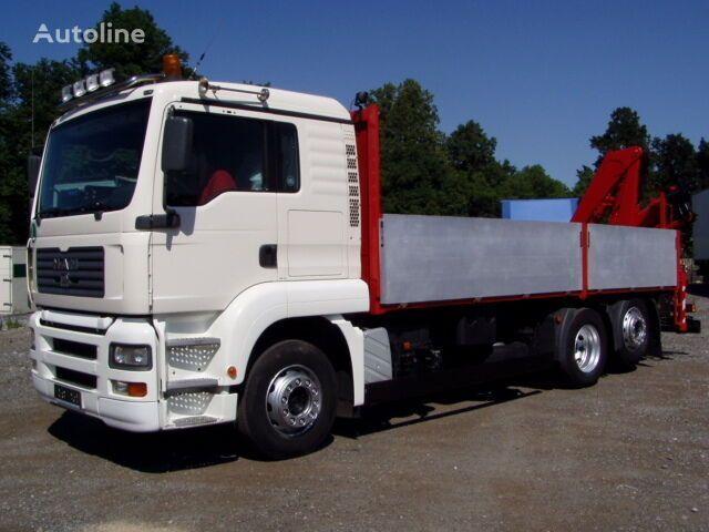 MAN 26.430 150A24-Fernbedienung flatbed truck