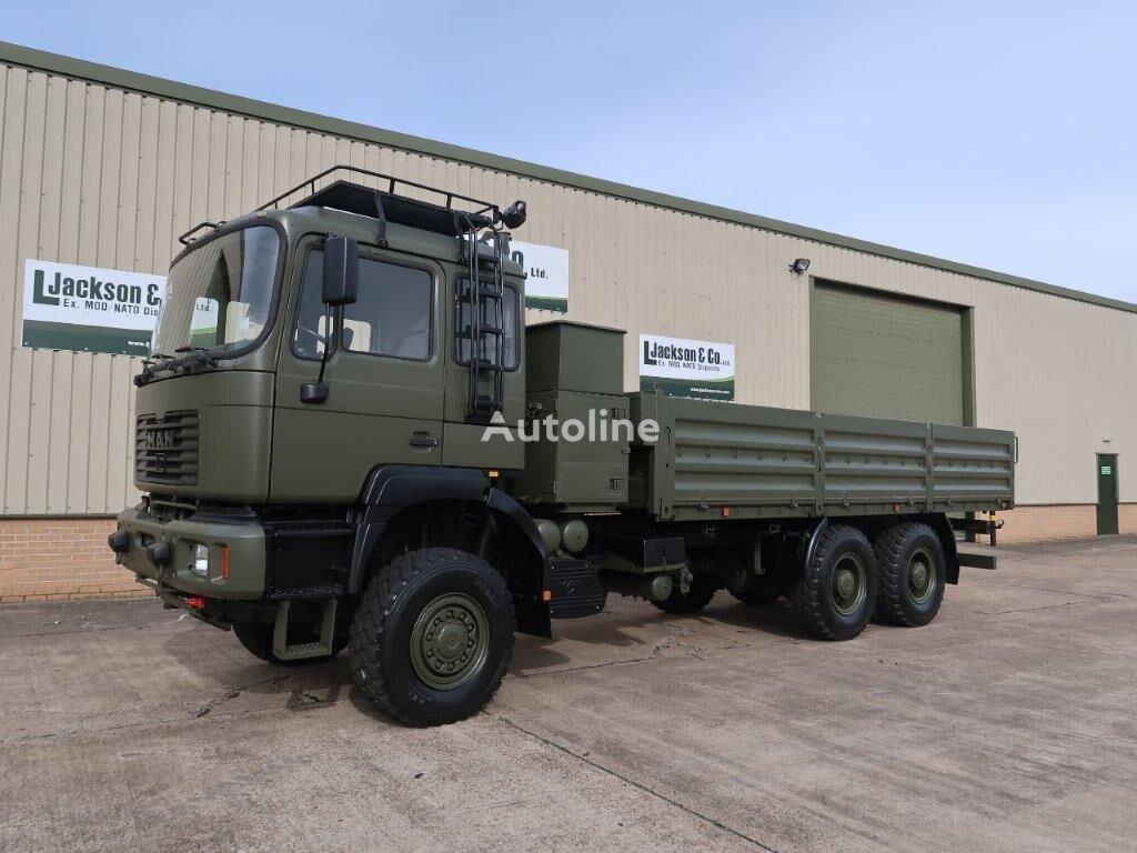 MAN 27.314 6x6  flatbed truck