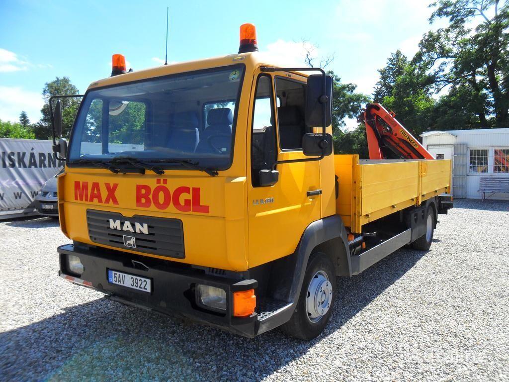 MAN LE 8.180 RUKA PK4501 flatbed truck