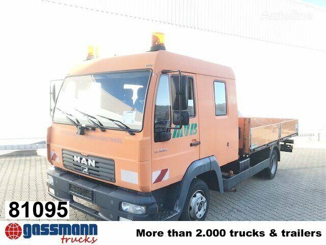 MAN LE 8.185 LC Doka 4x2 BB LE 8.185 LC Doka 4x2 BB, 2x AHK flatbed truck