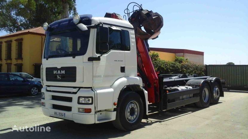 MAN TGA 26 360 flatbed truck