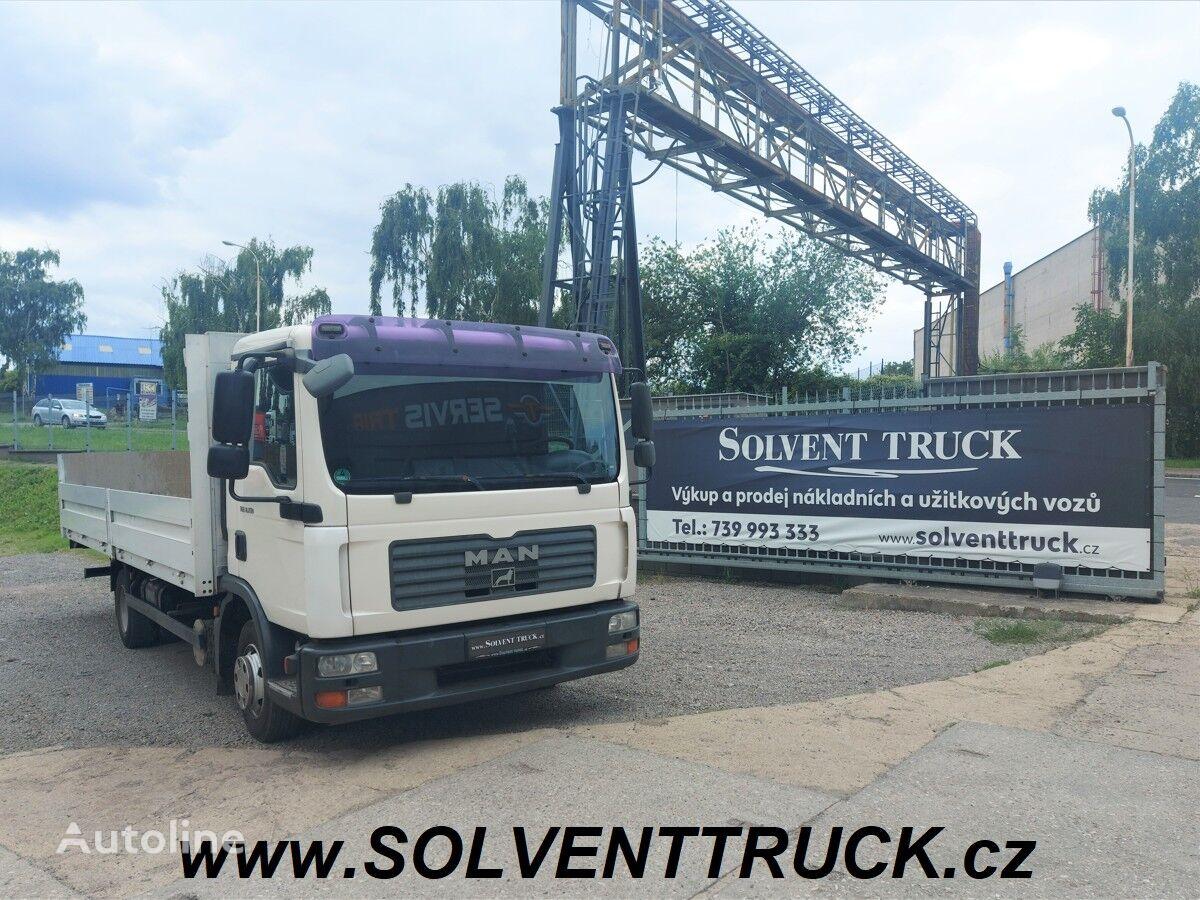 MAN TGL 7.150,Euro 4,Hydraulické čelo flatbed truck