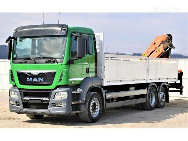 MAN TGS 26.440  flatbed truck