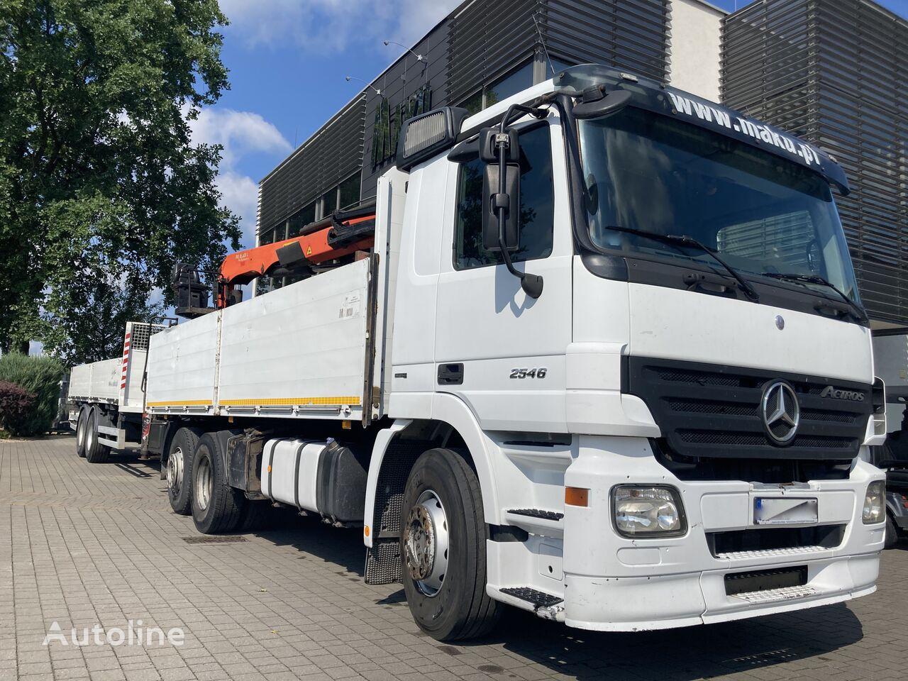 MERCEDES-BENZ 2546 6X2 PK18001L  flatbed truck