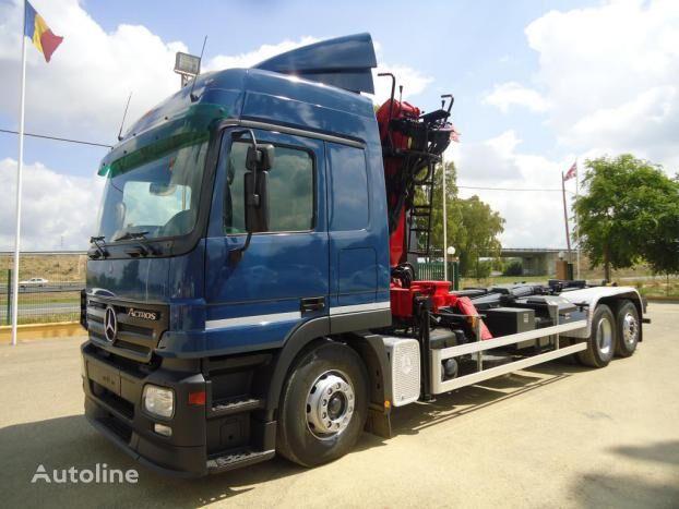 MERCEDES-BENZ ACTROS 25 44 flatbed truck