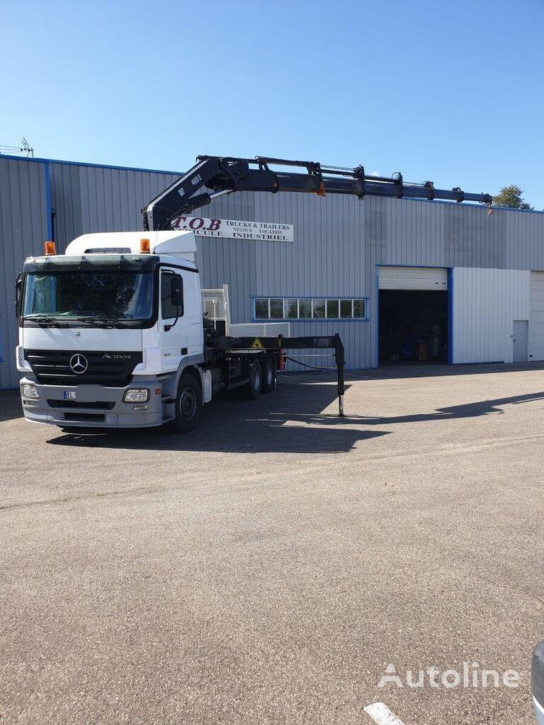 MERCEDES-BENZ ACTROS 2641  flatbed truck
