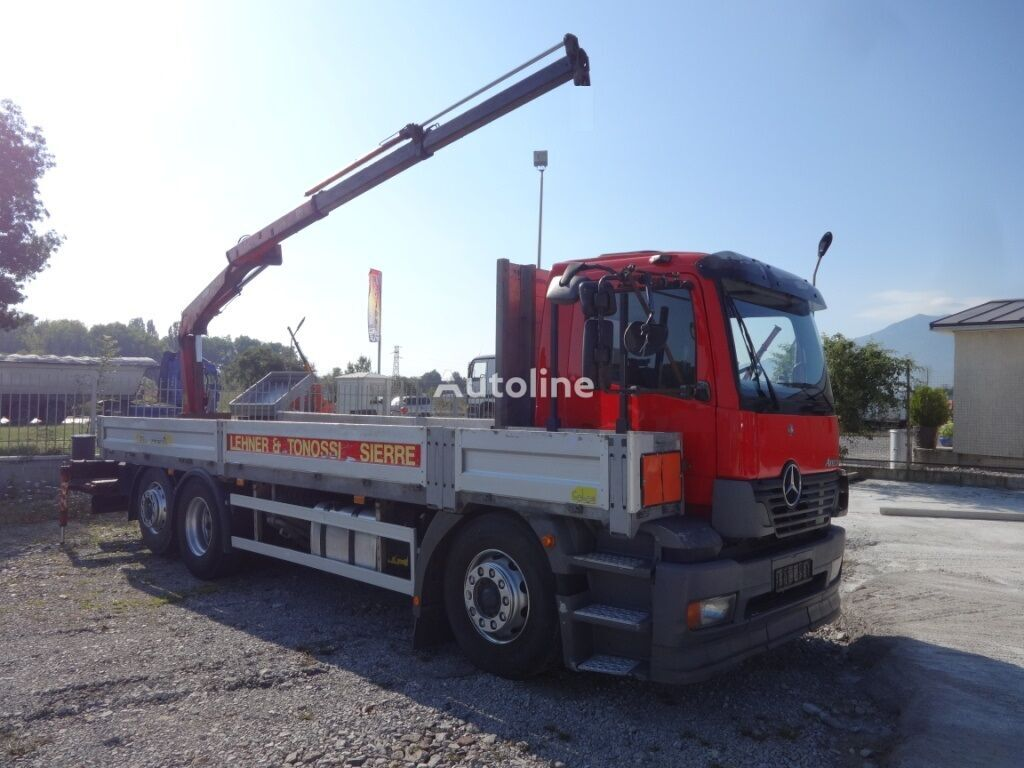 MERCEDES-BENZ Atego 2533 flatbed truck