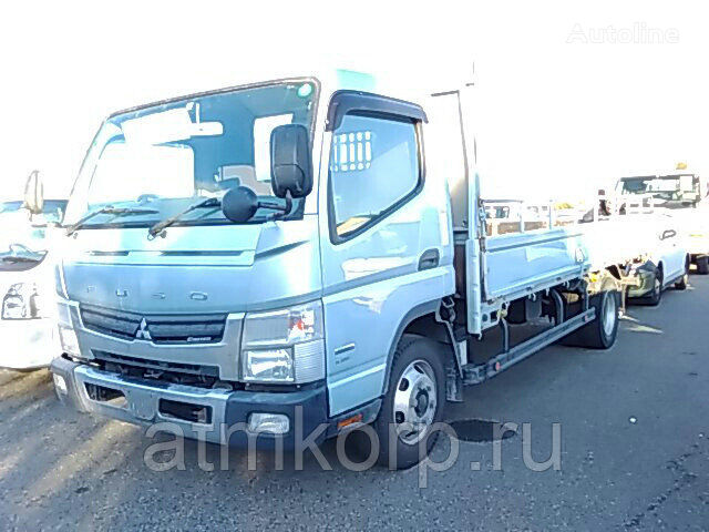MITSUBISHI Canter FEB80 flatbed truck