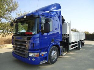 SCANIA P 340 flatbed truck