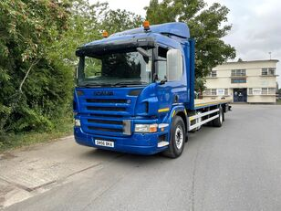 SCANIA P230 flatbed truck