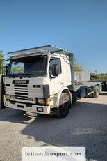 SCANIA P93 H 250 left hand drive 6X2 10 tyres 26 ton air con flatbed truck