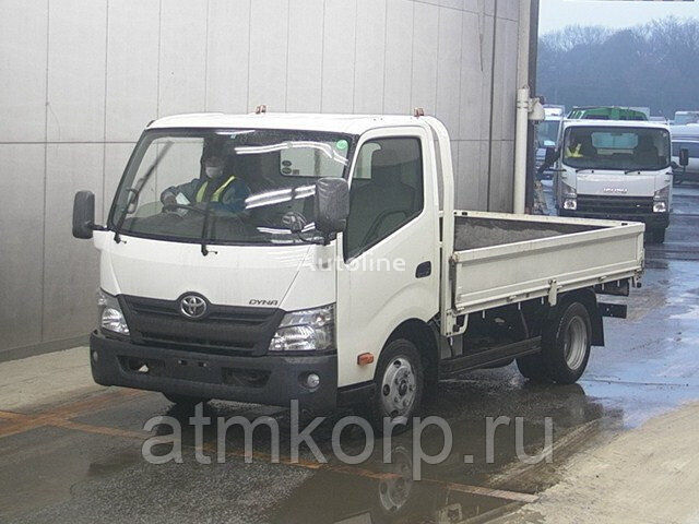 TOYOTA DYNA  XZU700  flatbed truck