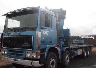 VOLVO F12 flatbed truck