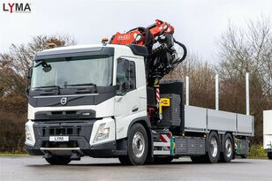 new VOLVO FASSI F545RA2.27L214 - 6x2  SOFORT!!! NOW!!! flatbed truck