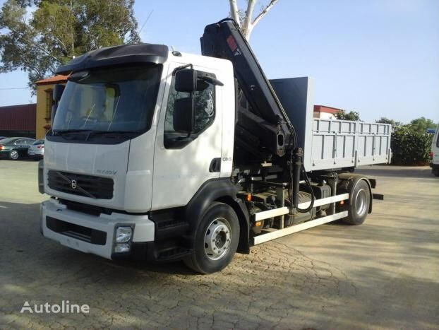 VOLVO FL 240 flatbed truck