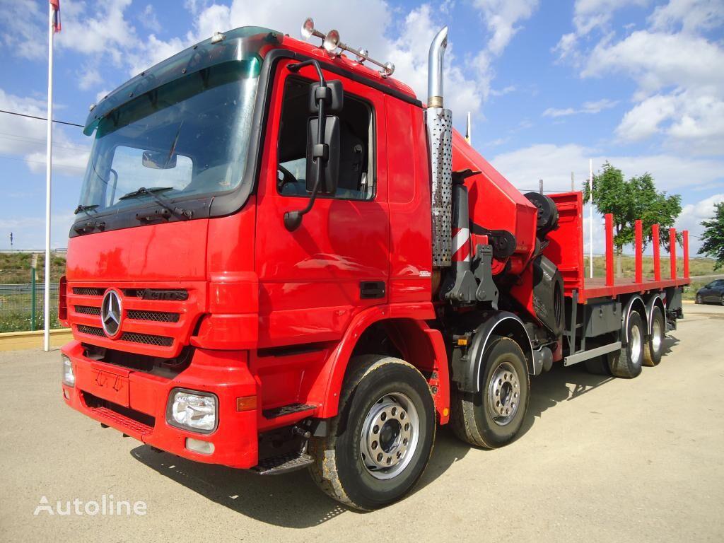 VOLVO FM 13 400 flatbed truck
