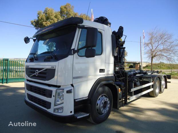 VOLVO FM 410 flatbed truck