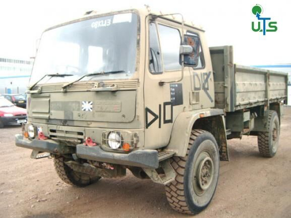 ASHOK LEYLAND DAF GS 4X4 EX MILITARY flatbed truck for parts