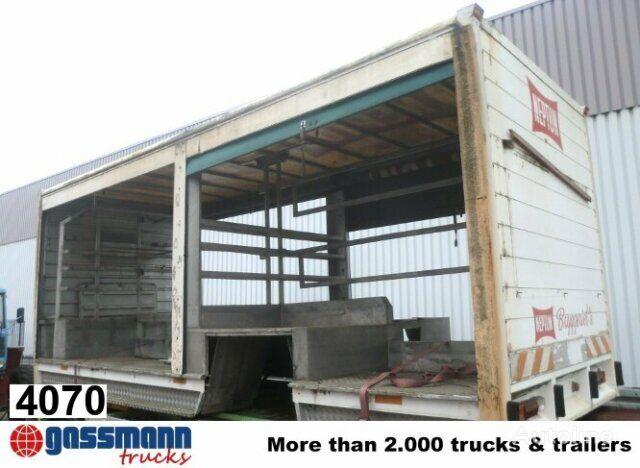 Aufbau Getränke flatbed truck