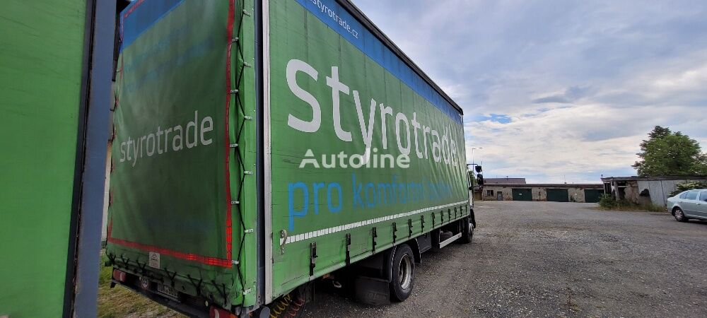 DAF 55.280 EEV flatbed truck + flatbed trailer