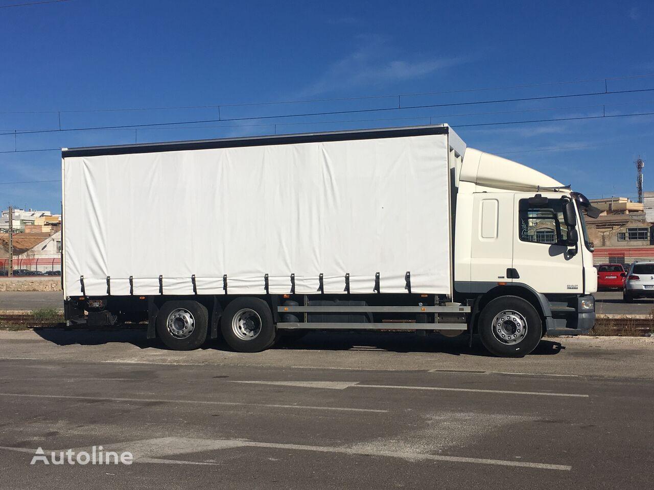 DAF CF75 flatbed truck