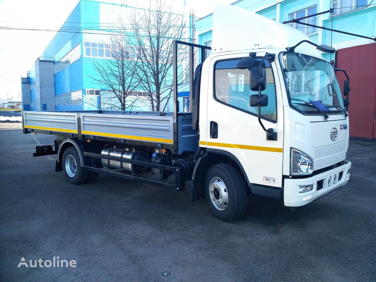 new FAW flatbed truck