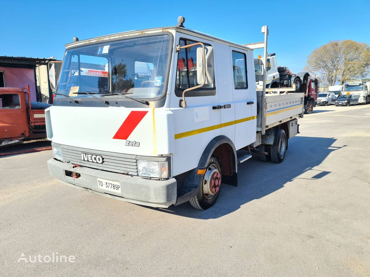 FIAT 50.9 flatbed truck