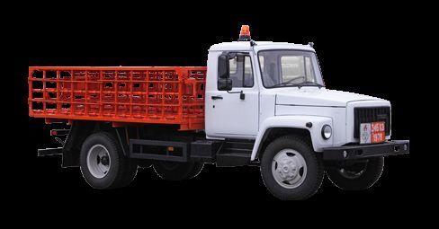 new GAZ KT-602-01 flatbed truck