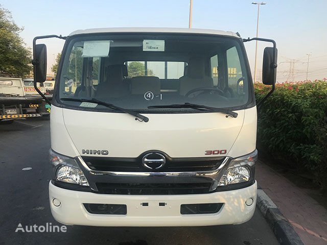 new HINO 614, 3.0 Tons(Approx.) Double Cab with Cargo Body , TURBO& ABS flatbed truck