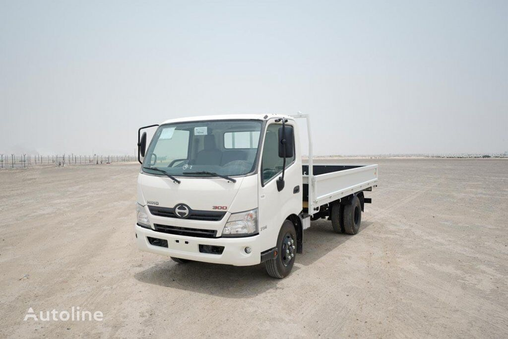 new HINO 714 flatbed truck