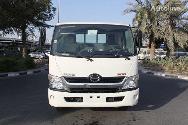 new HINO 714 with Cargo body , 4.2 Ton(Approx.) with Turbo & ABS flatbed truck