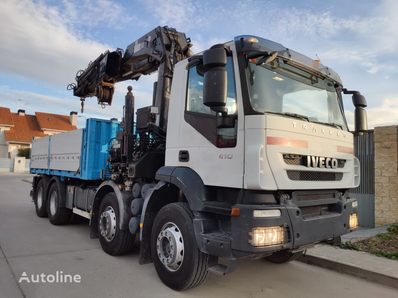 IVECO 410 flatbed truck