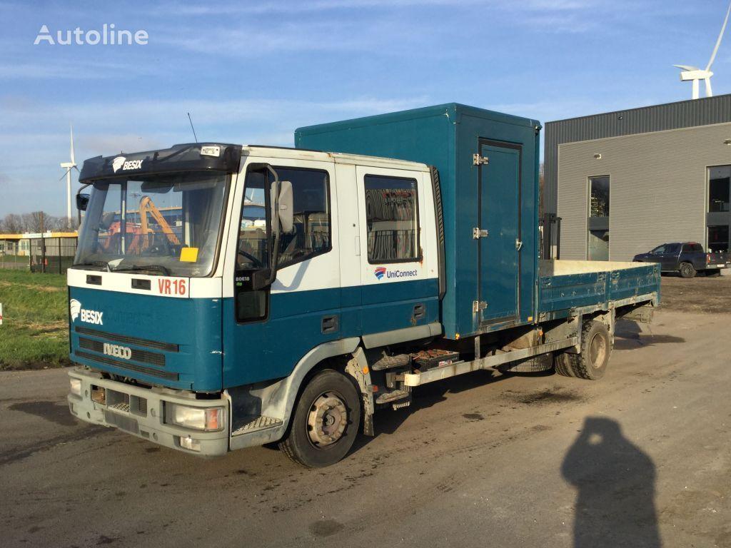 IVECO 80E18 flatbed truck