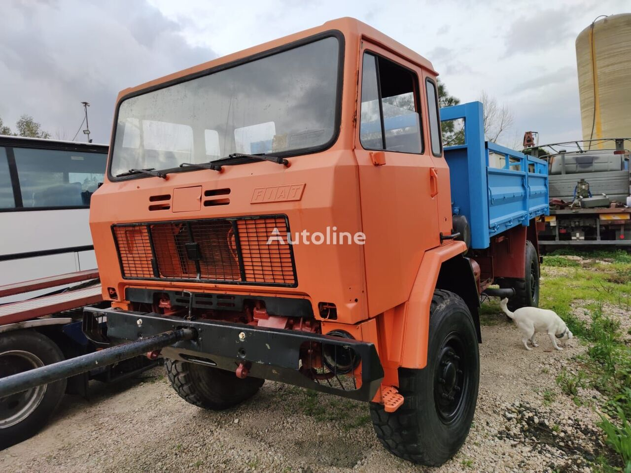 IVECO ACM 90 flatbed truck