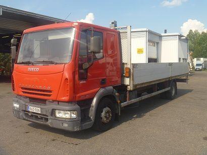 IVECO EuroCargo 120 E18 flatbed truck