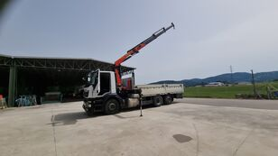 IVECO STRALIS AS260SY/PS 480, Palfinger  flatbed truck