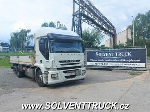 IVECO Stralis 420,EEV,Automat flatbed truck
