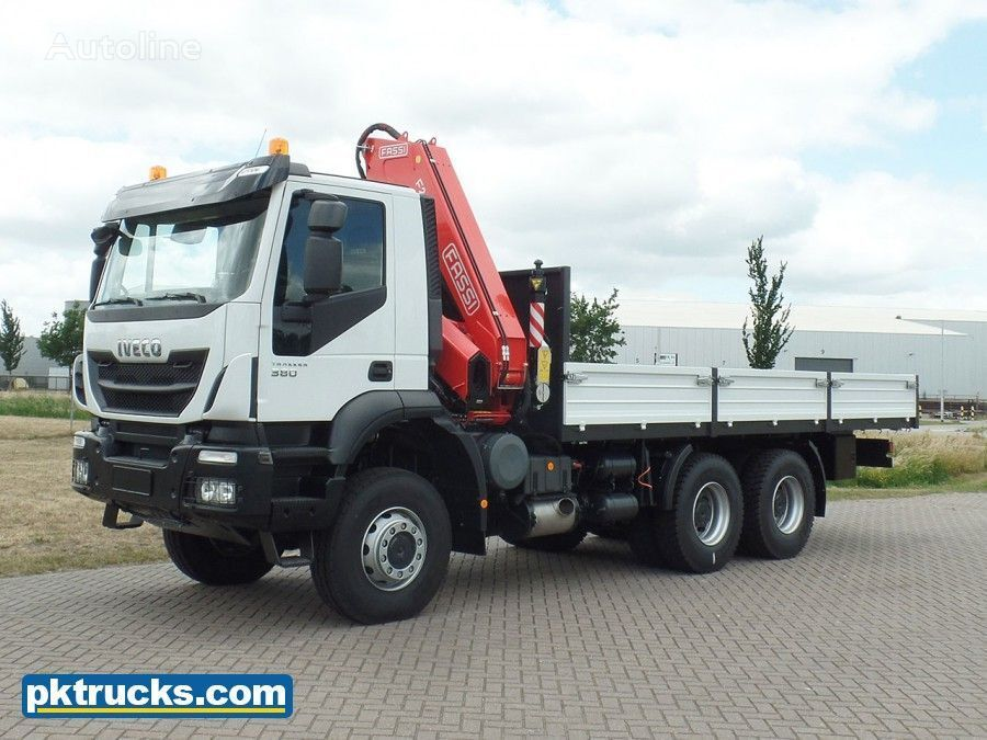 IVECO Trakker AD380T38WH  flatbed truck