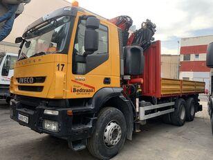IVECO trakker 330 flatbed truck