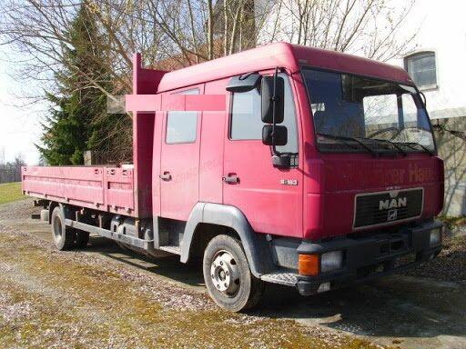 MAN 8.163 / L2000 flatbed truck