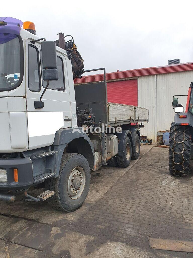 MAN F-series flatbed truck