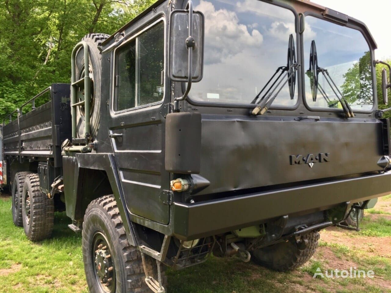 MAN KAT1 6x6 FLAT BED TRUCK (LHD) flatbed truck
