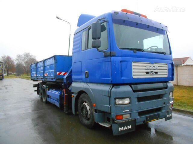MAN TGA flatbed truck