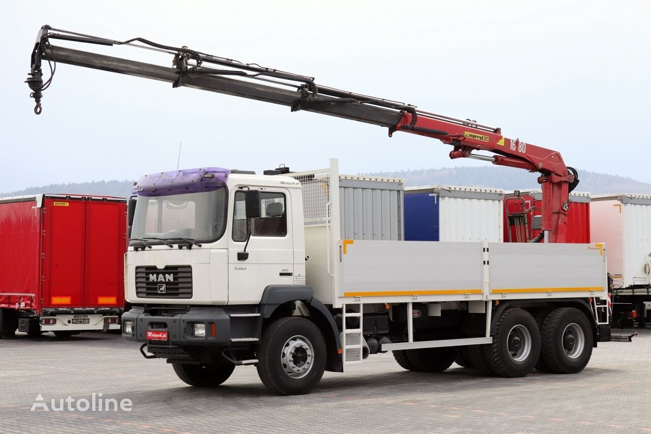 MAN TGA 33.310 flatbed truck
