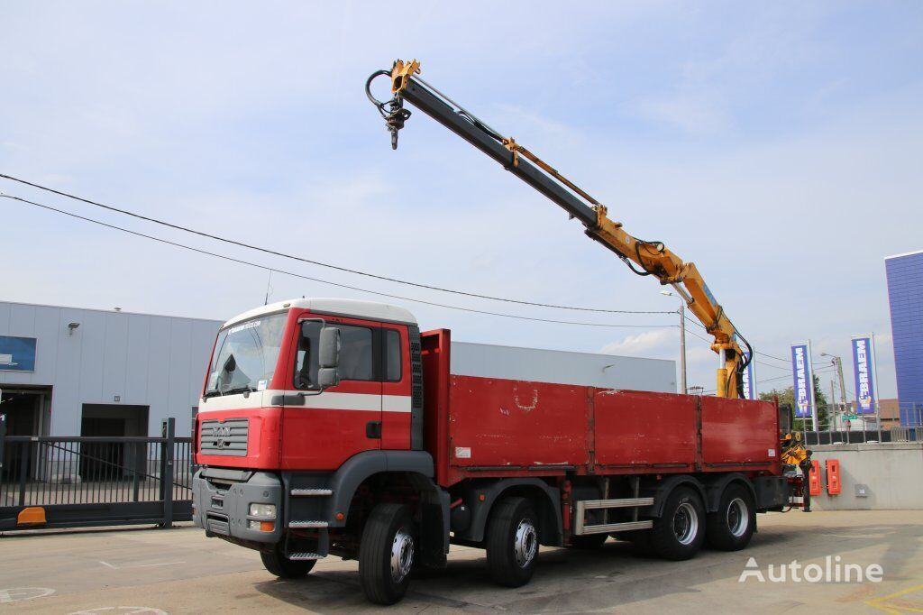 MAN TGA 35.360 BB-8x4-EFFER 210/2S flatbed truck