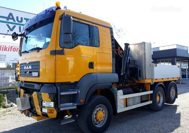 MAN TGA 440 flatbed truck