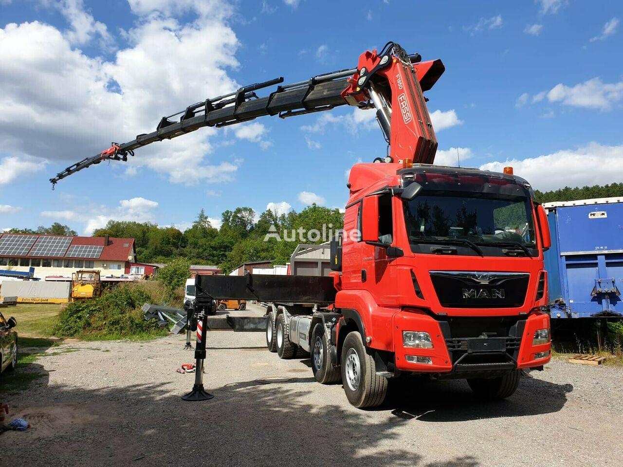MAN TGS 35.480 SOFORT VERFÜGBAR flatbed truck