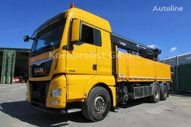 MAN TGX 26.480 BL Nr:182 flatbed truck