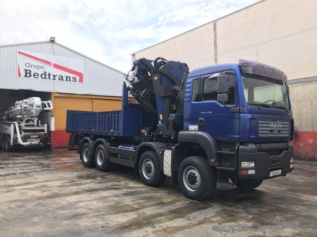 MAN tga 41.430 flatbed truck