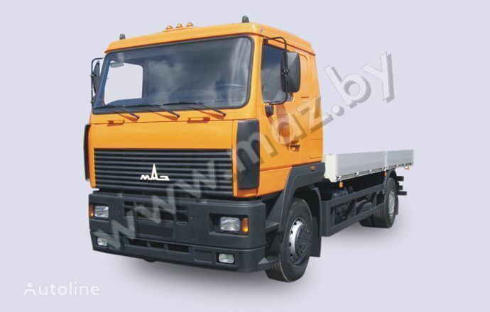 new MAZ 5340 A5 flatbed truck